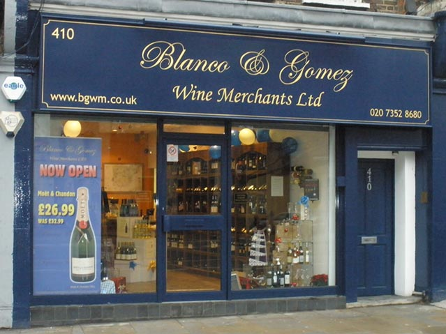 Blanco And Gomez Wine Merchants