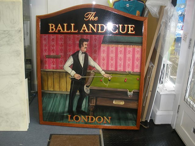 Ball And Cue