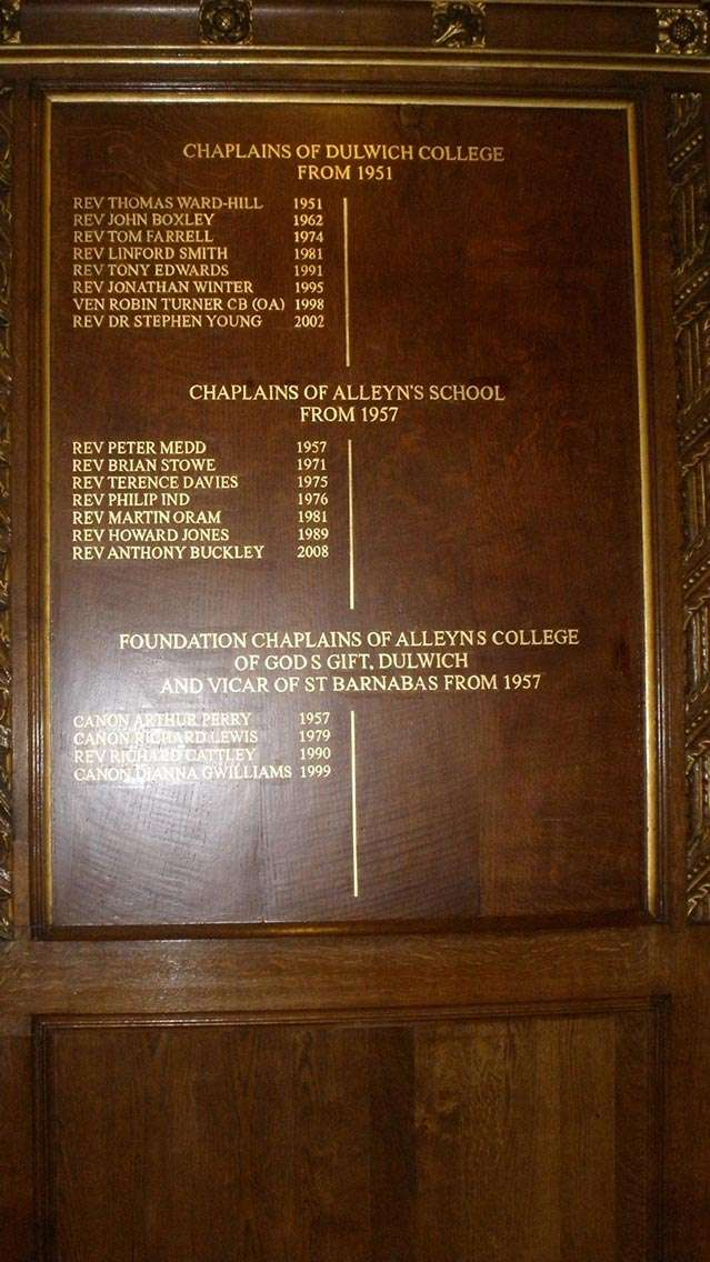 Dulwich Chapel