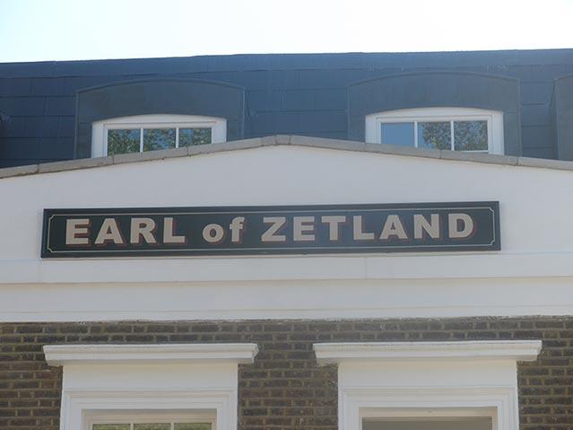 Earl Of Zetland