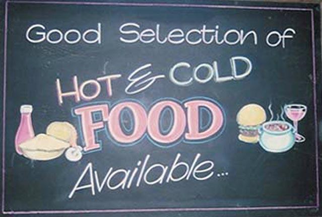 Food Chalkboard