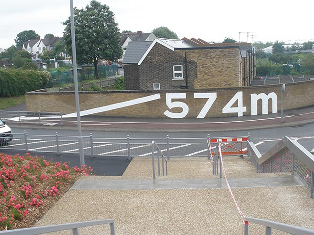Leyton Olympic Route