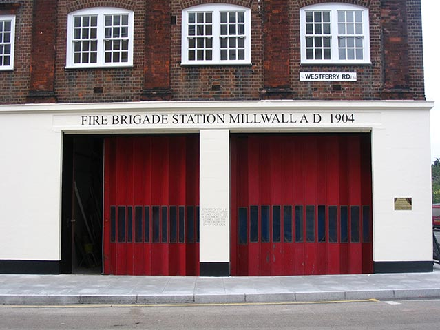 Millwall Fire Station