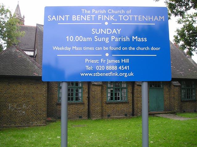 St Benet Fink