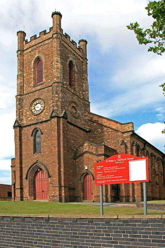 St Peters Walsall