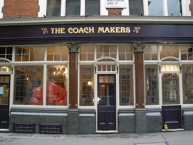 The Coachmakers Fascia