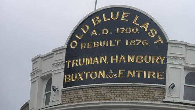 The Old Blue Last