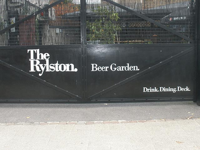 The Rylston Gates