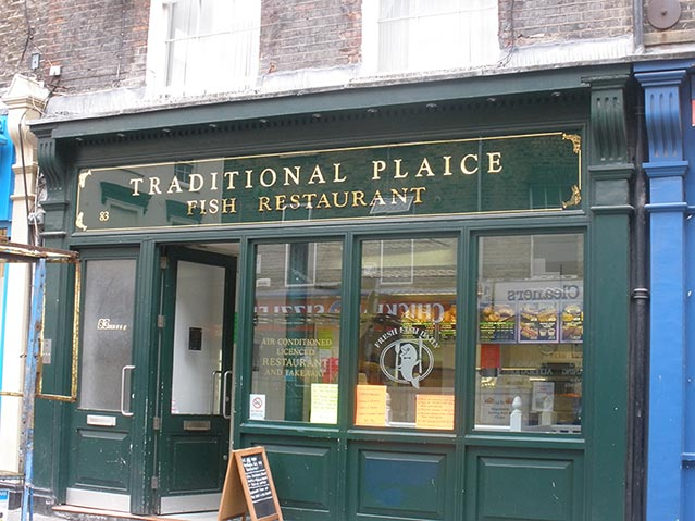 Traditional Plaice