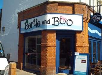 Bertie & Boo - Frontage